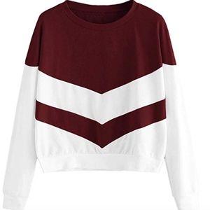 Women's Crewneck Long Sleeve Sweatshirt XS